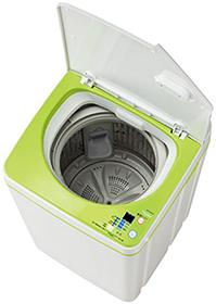 ハイアールの3.3kgの洗濯機