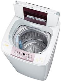 ハイアールの5.5kgの低騒音の洗濯機