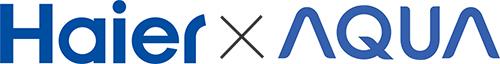 ハイアールとアクアのロゴ