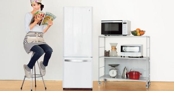 ハイアール家電の冷蔵庫