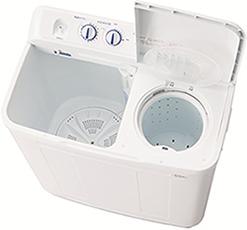 ハイアールの二槽式洗濯機