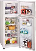 ハイアールの268Lの冷蔵庫
